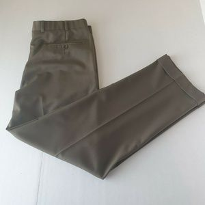 Brooks Brothers 346 Solid Olive Green Wool Pants